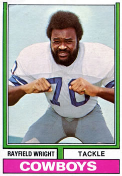 1974 Topps #54 Rayfield Wright