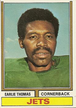 1974 Topps #201 Earlie Thomas RC
