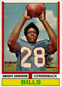 1974 Topps #399 Dwight Harrison RC