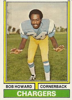 1974 Topps #483 Bob Howard RC