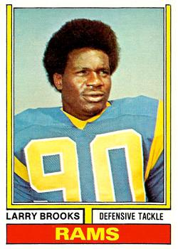 1974 Topps #493 Larry Brooks RC