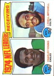 1975 Topps #3 Receiving Leaders
