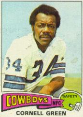 1975 Topps #91 Cornell Green