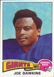 1975 Topps #116 Joe Dawkins