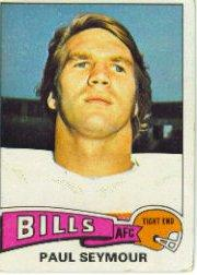 1975 Topps #185 Paul Seymour