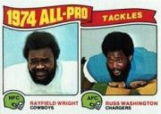 1975 Topps #202 All Pro Tackles