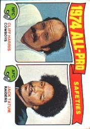 1975 Topps #223 Cliff Harris/J.Tatum AP