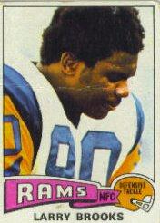 1975 Topps #231 Larry Brooks front image