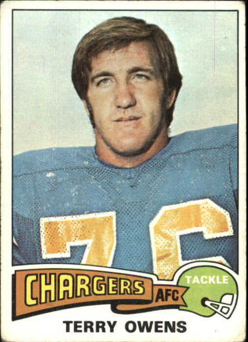1975 Topps #256 Terry Owens