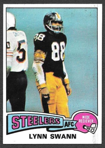 1975 Topps #282 Lynn Swann UER RC/(Wide Reciever on front)