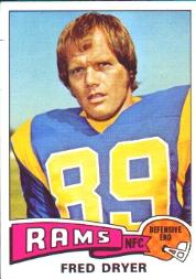 1975 Topps #312 Fred Dryer