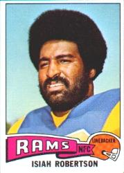 1975 Topps #371 Isiah Robertson