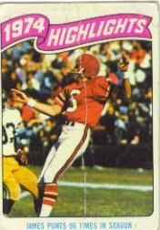 1975 Topps #455 John James HL
