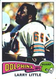 1975 Topps #499 Larry Little