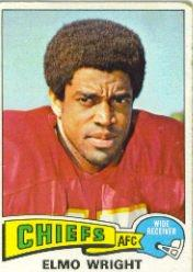 1975 Topps #513 Elmo Wright