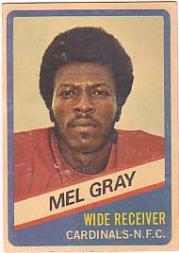 1976 Wonder Bread #4 Mel Gray