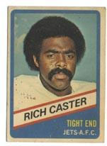 1976 Wonder Bread #6 Richard Caster front image