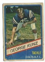 1976 Wonder Bread #7 George Kunz
