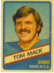 1976 Wonder Bread #10 Tom Mack front image