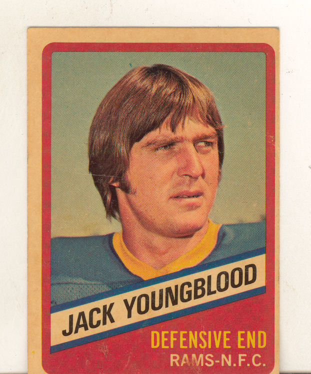 1976 Wonder Bread #14 Jack Youngblood front image