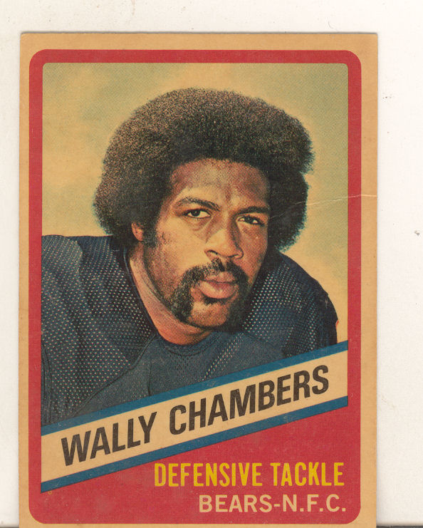 1976 Wonder Bread #15 Wally Chambers front image