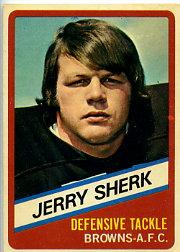 1976 Wonder Bread #16 Jerry Sherk