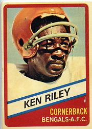 1976 Wonder Bread #23 Ken Riley front image