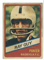 1976 Wonder Bread #24 Ray Guy