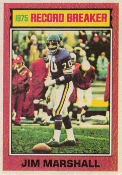 1976 Topps #4 Jim Marshall RB