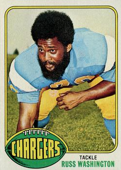 1976 Topps #38 Russ Washington