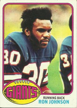 1976 Topps #87 Ron Johnson