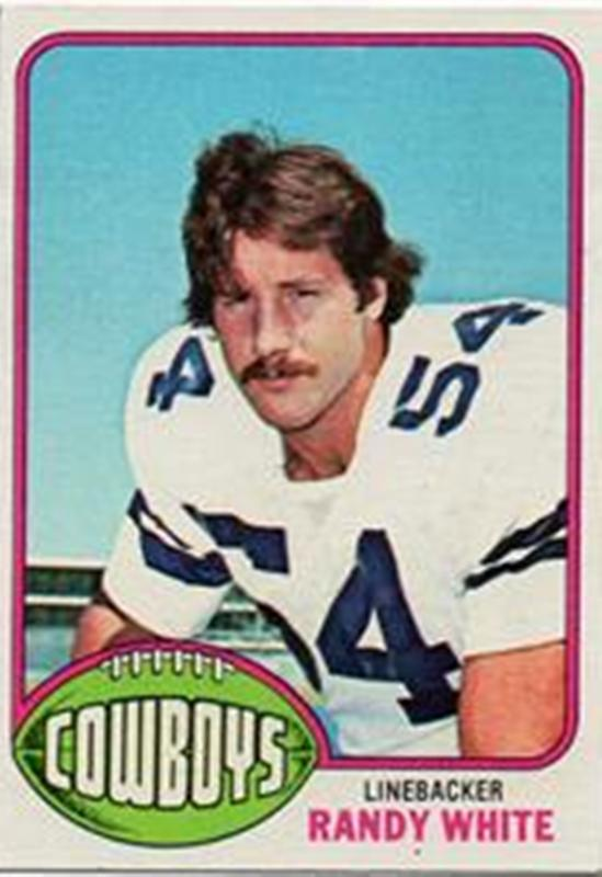 1976 Topps #158 Randy White RC