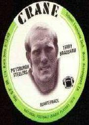 1976 Crane Discs #4 Terry Bradshaw