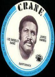 1976 Crane Discs #14 James Harris SP