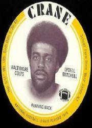 1976 Crane Discs #21 Lydell Mitchell SP