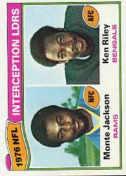 1977 Topps #5 Interception Leaders