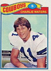 1977 Topps #15 Charlie Waters