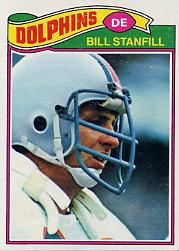 1977 Topps #16 Bill Stanfill