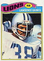 1977 Topps #21 Lawrence Gaines RC
