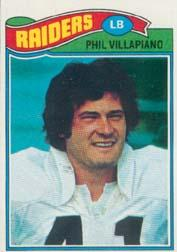 1977 Topps #24 Phil Villapiano