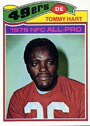 1977 Topps #40 Tommy Hart front image