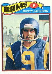 1977 Topps #42 Rusty Jackson RC