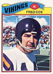 1977 Topps #46 Fred Cox