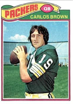 1977 Topps #104 Carlos Brown RC