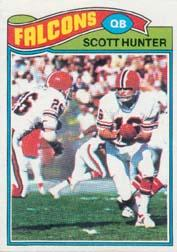 1977 Topps #157 Scott Hunter
