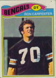 1977 Topps #168 Ron Carpenter