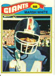 1977 Topps #196 Marsh White RC