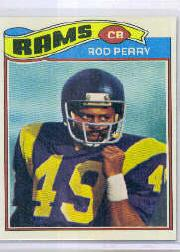 1977 Topps #197 Rod Perry RC