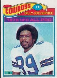 1977 Topps #260 Billy Joe DuPree
