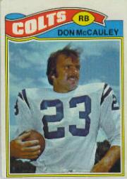 1977 Topps #288 Don McCauley